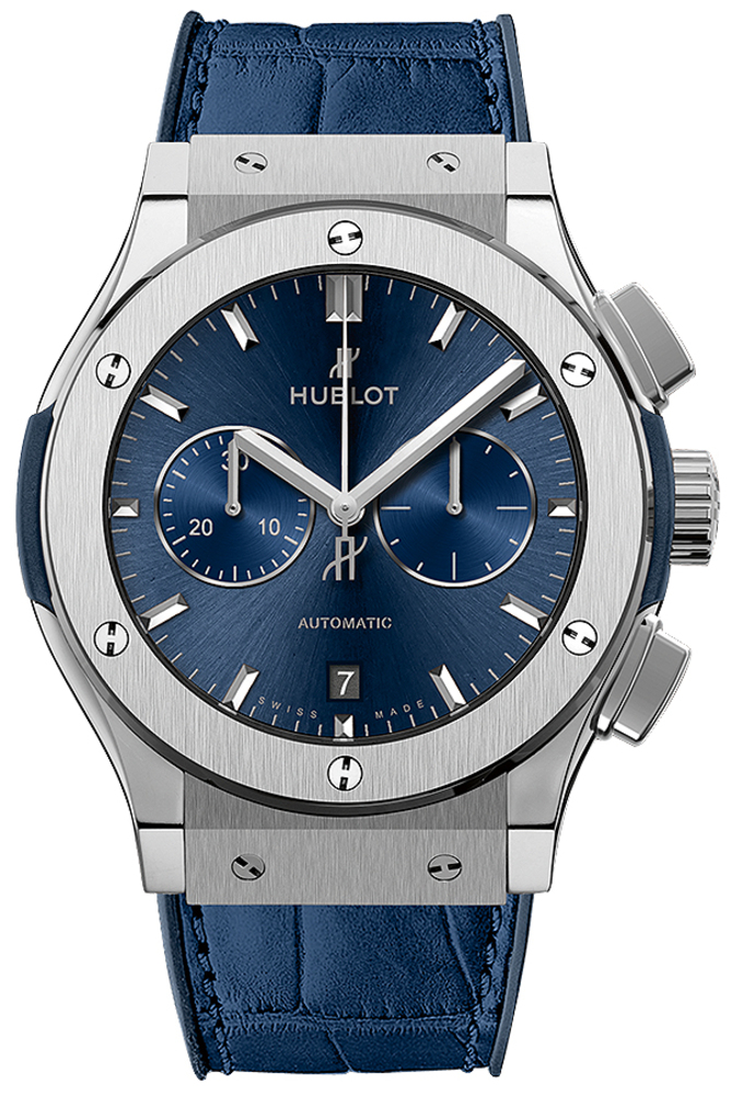 Photo Hublot Classic Fusion Blue Titanium 42mm