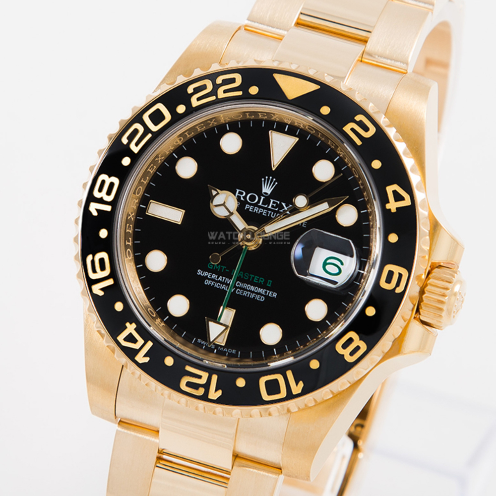 Photo Rolex GMT Master II LC 100 perfect condition